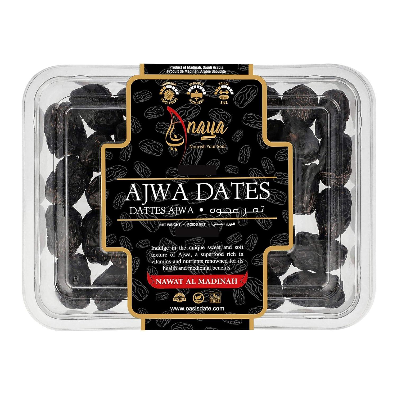 Large Ajwa Cheap bargain Dates Al-Madinah Long Beach Mall 400g from