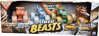 MonsterJam 4 Pack, Power Beasts