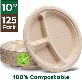 Best 10 compartment plastic plates Reviews