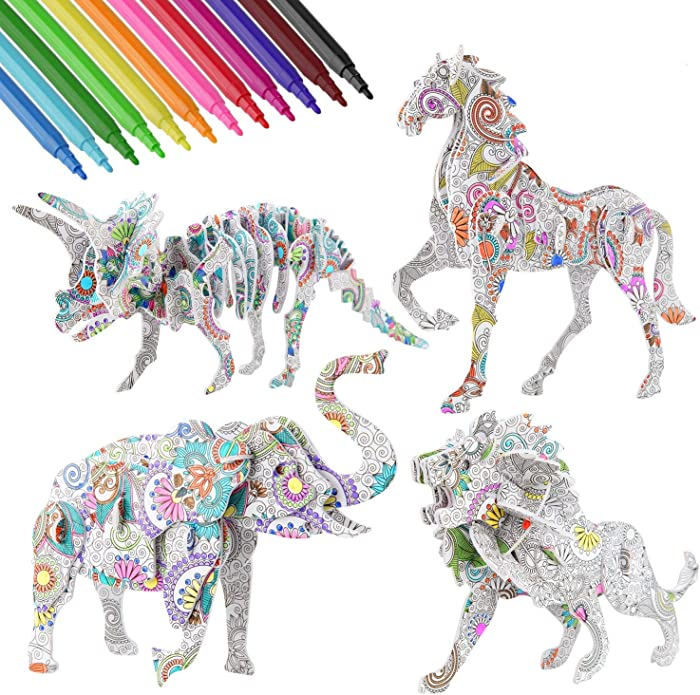 The Best Coloring Puzzle Junk Food