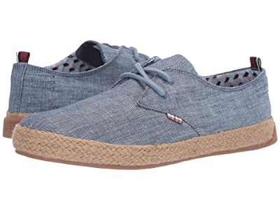 Ben Sherman New Prill Lace-Up (Blue Linen 1) Men