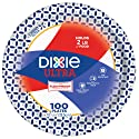"Dixie Ultra Paper Plates, 10 1/16"", 100 Count, Dinner Size Printed Disposable Plates"