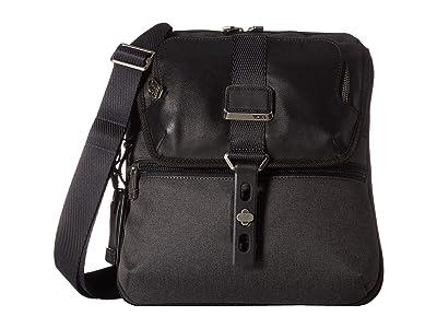 Tumi Alpha Bravo Arnold Zip Flap (Graphite) Messenger Bags