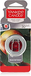Yankee Candle Company CAR VENT CLIP HW MACINTOSH, Smart Scent