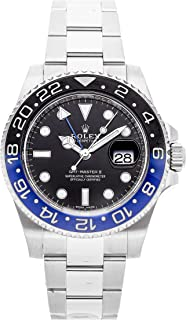 GMT Master II Mechanical (Automatic) Black Dial Mens Watch 116710BLNR (Certified Pre-Owned)