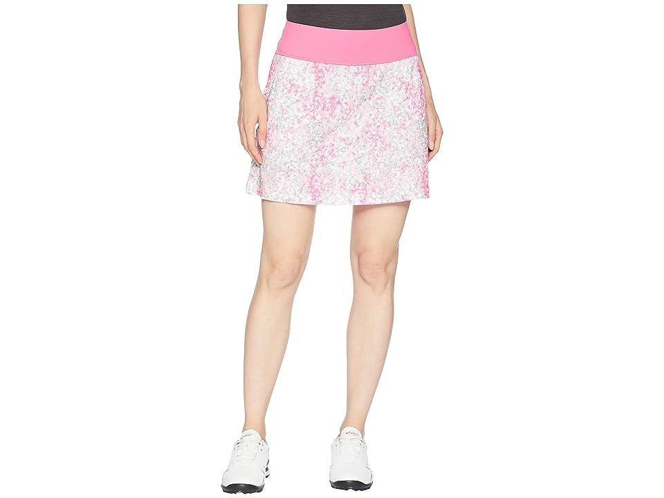 PUMA Golf PWRSHAPE Floral Knit Skirt (Carmine Rose) Women