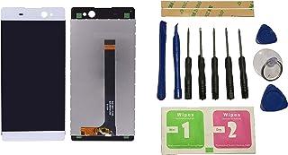 Flügel para Sony Xperia C6 XA Ultra F3211 F3212 F3213 F3215 F3216 Pantalla LCD pantalla Blanco Táctil digitalizador Asamblea Pantalla ( sin marco ) de Recambio & Herramientas