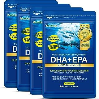 シードコムス seedcoms DHA + EPA オメガ系 α-リノレン酸 ビンチョウマグロの頭部のみを贅沢に使用!トランス脂肪酸0㎎ 約12ヶ月分 360粒