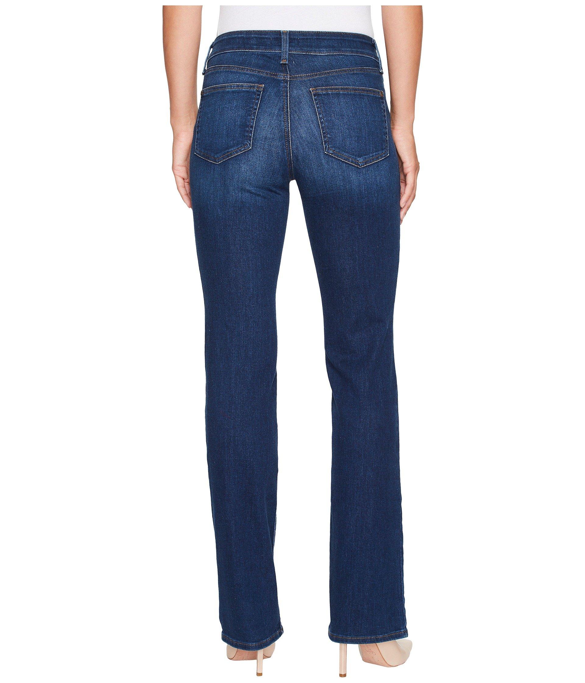 Nydj 'barbara' colored denim bootcut jeans
