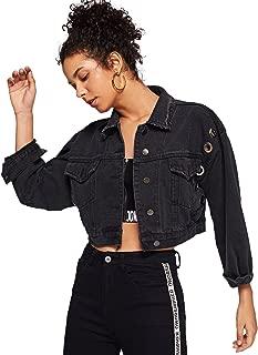 bebe black cropped leather jacket