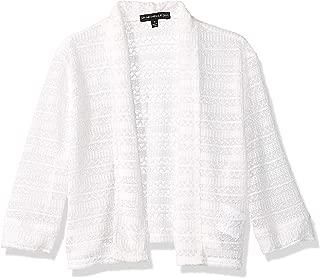 Girls' Crochet Cardigan Sweater