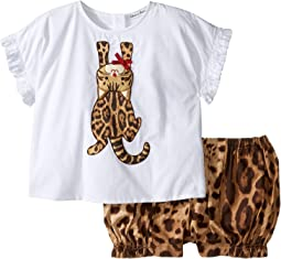 Zambia T-Shirt/Shorts One-Piece (Infant)