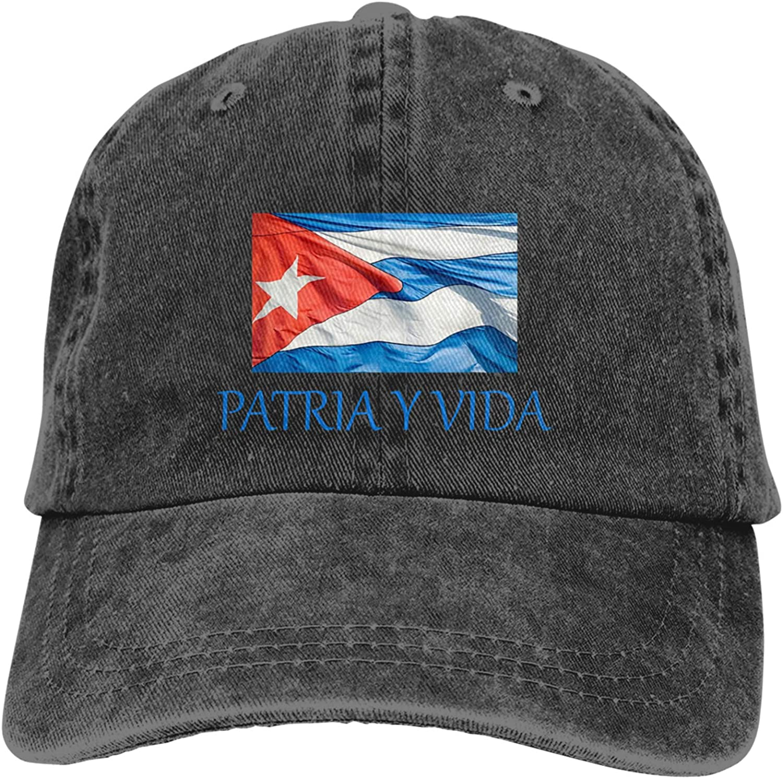 Patria Y Vida-Viva Cuba Libre Vida 2021 Seattle Mall C Baseball Fashion Hat