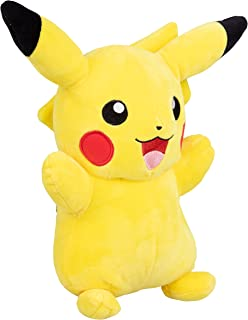 Wicked Cool Toys, LLC 95251 Pokemon - Peluche de Pikachu (30 cm), Color Amarillo