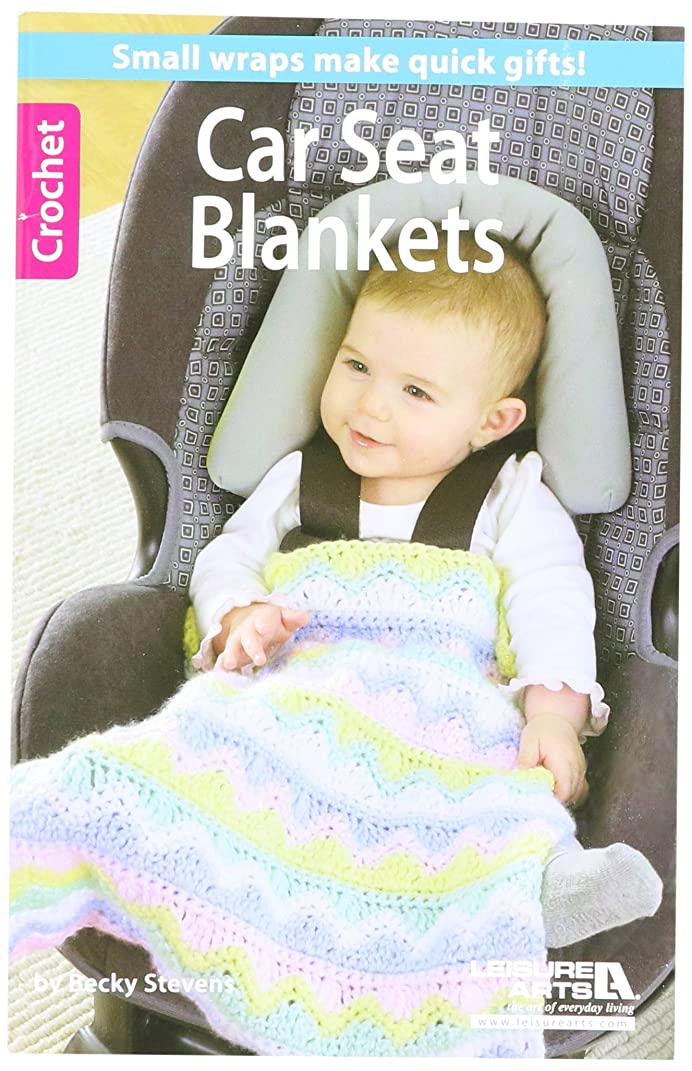Leisure Arts Crochet Car Seat Blankets Book