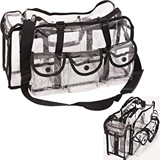 Casemetic Large Carry Clear Set Bag with 6 External Pockets