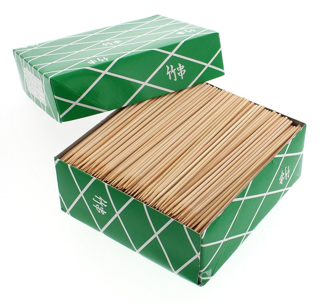 肌瞬時にローラー【業務用】 丸型 竹串 15cm 800g箱入 (約1100本入)