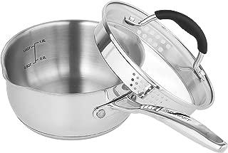Best 1/2 quart saucepan with lid Reviews