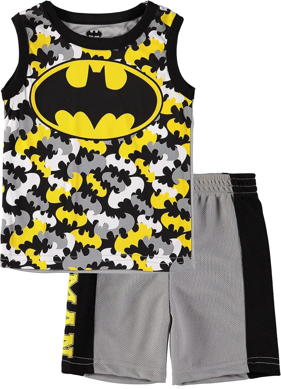 DC Comics Batman Tank Top and Shorts Lounge Set