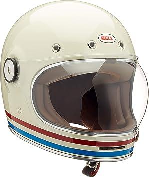 Bell Herren Bullitt Helme Dlx Stripes Pearl White M Auto