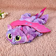 Lovely Pet Cat Dog Warm Coral Velvet Costumes Fly Dragon Halloween Costume Dogs Cats Winter Autumn Clothes Goods Supplies