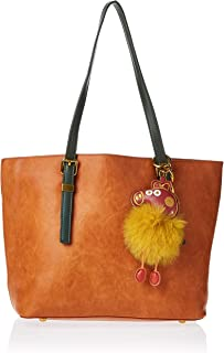 Zeneve London Womens Tote Bag, Brown - 1191832211