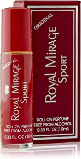Royal Mirage Sport Original Roll On Perfume For Unisex, Multi Smell, 10 ml
