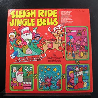 The Caroleer Singers And Orchestra - Sleigh Ride Jingle Bells - Lp Vinyl Record