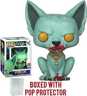 Funko Pop! Comics: Saga - Bloody Lying Cat FCBD 2018 PX Previews Exclusive Vinyl Figure (Bundled with Pop Box Protector Case)
