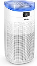 Afloia Smart Air Purifier for Home Large Room about 1000ft², 3-Stage Filtration remove 99.99% Odor/Smoke/Pet Dander, 25dB ...
