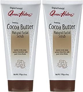Queen Helene Face Scrub, Cocoa Butter, 6 oz, 2 pk