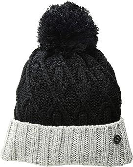 cdbb2c4da57 Calvin Klein Basic Rib Pom Hat at Zappos.com