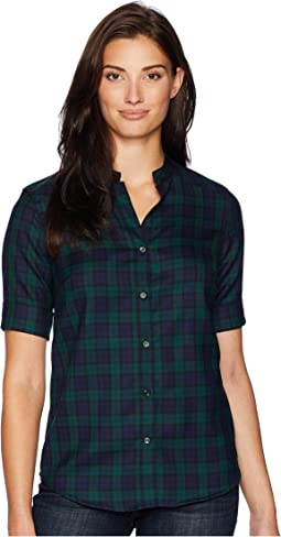 Amelia Wool Plaid Tunic