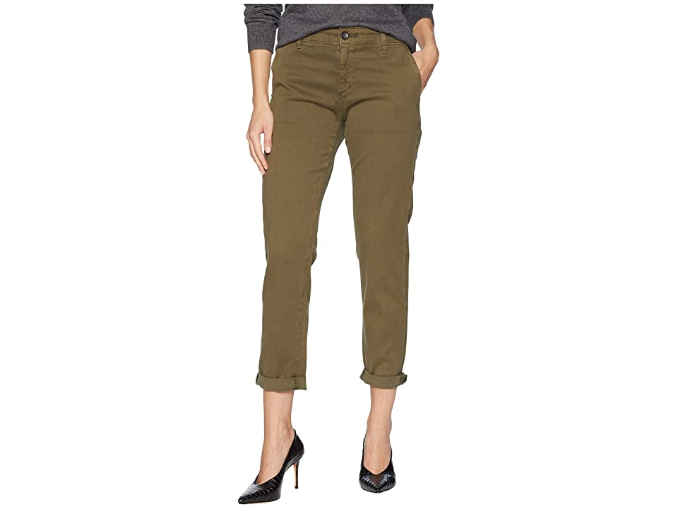 Image of AG Adriano Goldschmied Caden in Sulfur Dried Agave (Sulfur Dried Agave) Women's Jeans