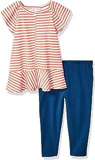 Splendid baby-girls Yarn dyed slub jersey top set T-Shirt Set