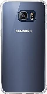 Samsung Clear Cover - Funda Oficial para Samsung Galaxy S6 Edge+, Color Negro