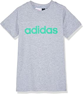 adidas Boys' Essentials Linear Tee