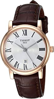 Tissot Analogue Classic Brown Strap Women's Wrist Watches - T122.210.36.033.00