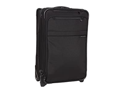 Briggs & Riley Baseline Domestic Carry-On Expandable Upright (Black) Pullman Luggage
