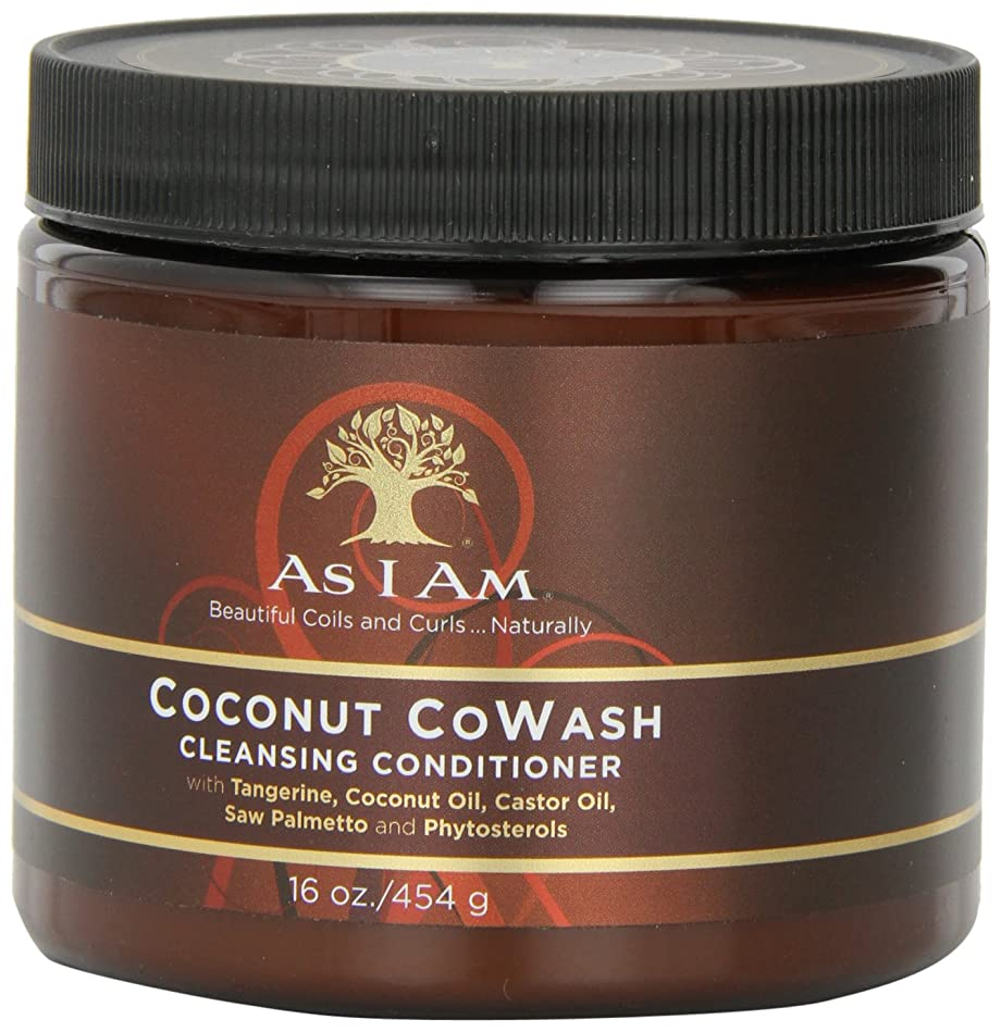系統的不規則性対応するAs I Am Coconut Cowash Cleansing Conditioner 16 oz