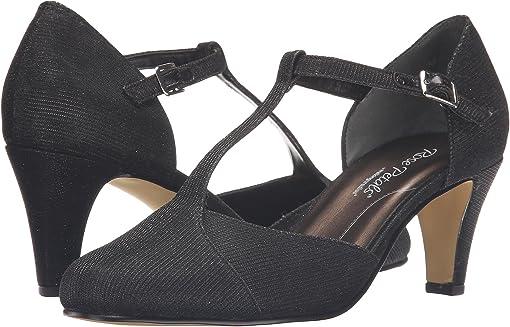 Black Sparkle Fabric