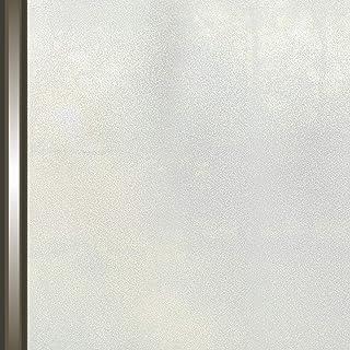 AIDON 窓 めかくしシート 窓用フィルム ガラスフィルム UVカット 窓飾りシート 断熱 遮光 水で接着 貼り直し可能 (60*200cm)