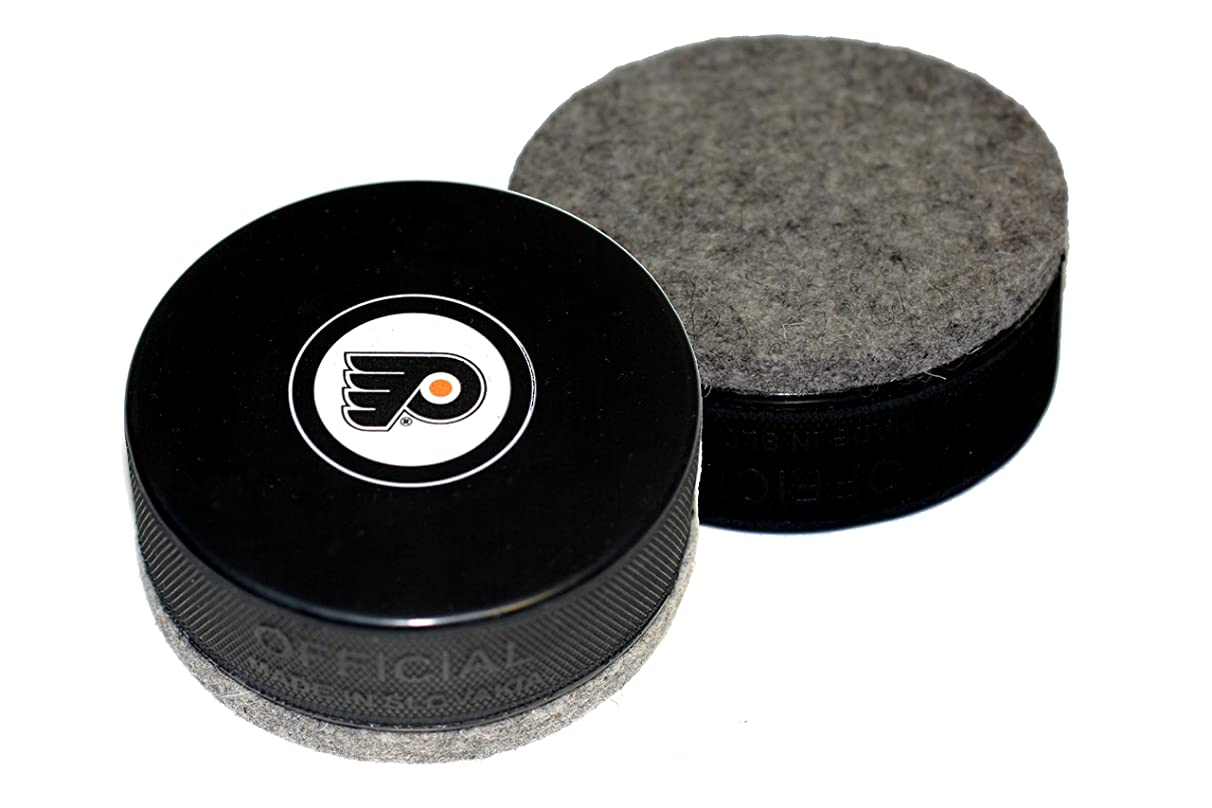 EBINGERS PLACE Philadelphia Flyers Autograph Style Hockey Puck Board Eraser for Chalk Boards and Whiteboards