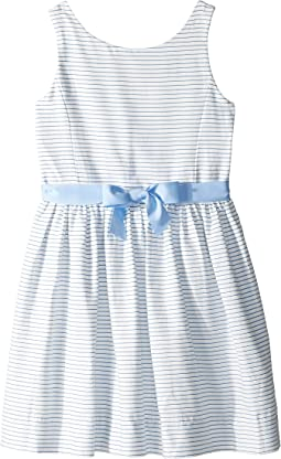 Striped Fit and Flare Dress (Big Kids)