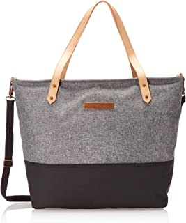 Petunia Pickle Bottom Downtown Tote, Graphite/Black