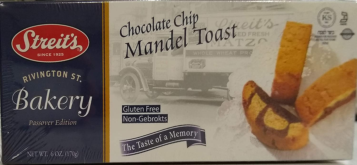 Passover Mandel Max Boston Mall 69% OFF Toast Cookies 6 oz Chocolate Chip