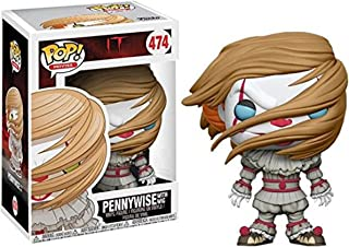 Funko Pop Pennywise W/wig Walmart Exclusive blue Eyes Variant It Movies #474