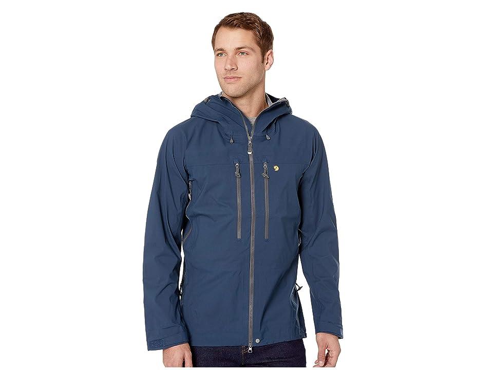 Fjallraven Bergtagen Eco-Shell Jacket (Mountain Blue) Men