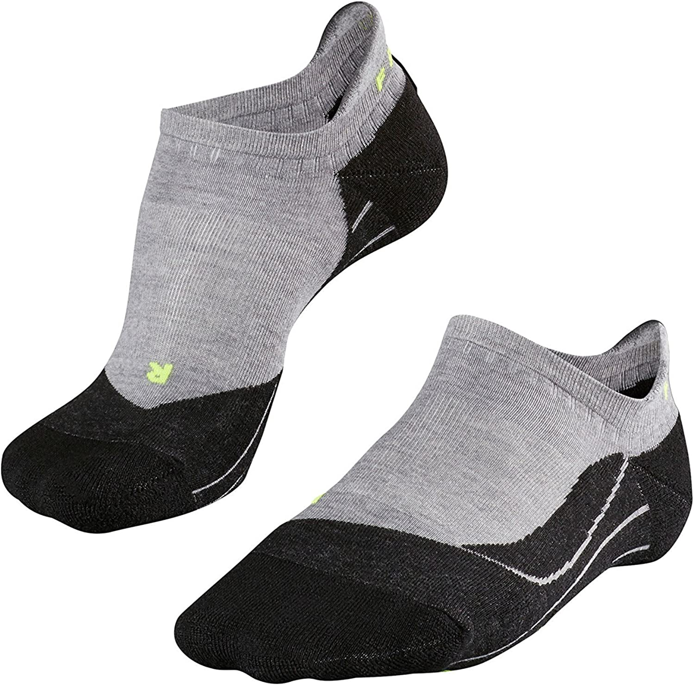 (4648 (EU), Light Grey)  Falke TK5 Invisible Men's Walking Socks, Men, FALKE Wandersocke TK5 Invisible Men