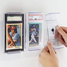 Card Mount for Graded PSA Trading and Sports Cards, Stand and Wall Mount Display for Collectible Cards (5)